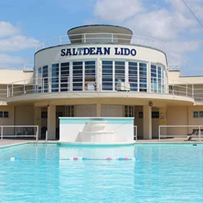Fire safety system at Saltdean Lido