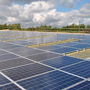 Wetherby Building Systems HQ solar panel installation