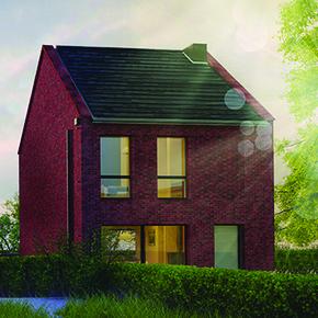 Wienerberger e4 brick house