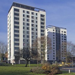 Worcester High Rise refurbishment, featuring Structherm's SEWI