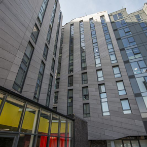 Cembonit fibre cement cladding featured on Liverpool development