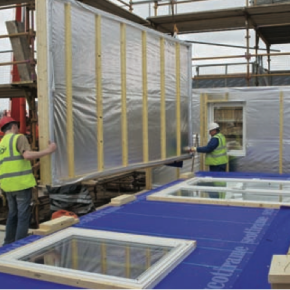 """""""Total housing starts are predicted to tip over 200,000 by 2018, encouraging builders to look again at timber frame"""" - Andrew Carpenter STA."""