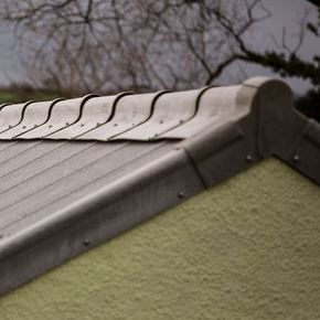 Cembrit B5 Fibre Cement Corrugated Sheets Replacement For Asbestos Roofs Buildingtalk Construction News And Building