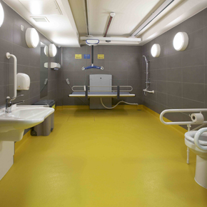 Changing Places assisted-access facilities at Birmingham library