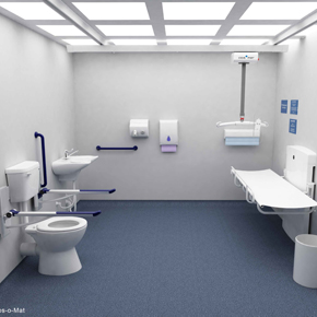 Clos-o-Mat Space to Change toilet