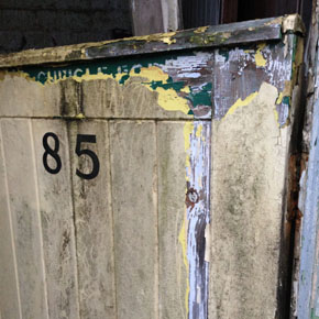Cubicle 85 at the National Lido of Wales