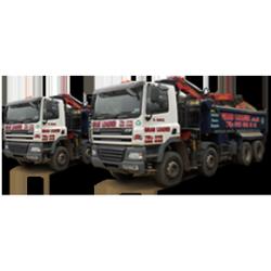 Grab lorries