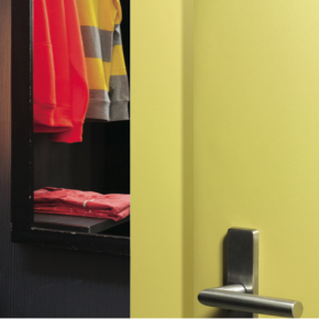"""""""The opportunity to specify custom design doors both in terms of size and decor is an attractive proposition"""" Phil Wise, Formica Group"""