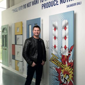 George Clarke promoting Truedor