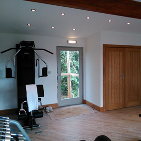 Bath Lodge Castle gym