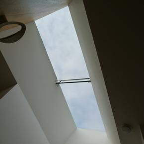 Flushglaze roof light at Knitters Cottage