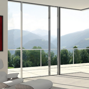 Schueco panoramic sliding doors