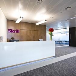 Skrill reception area
