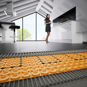 Schluter DITRA-HEAT underfloor heating