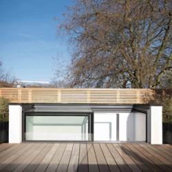 Three-wall box rooflight