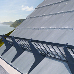 Trapac Tile Amp Snow Guard Protects Against Falling Roof
