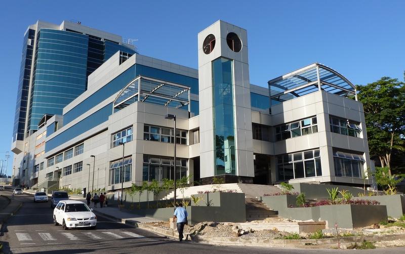 Nevill Long Supply Ceiling Tiles For New Trinidad Hospital Buildingtalk