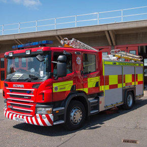 Scottish Fire and Rescue Service installed C-TEC Power Supplies